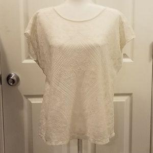 Lauren cream blouse